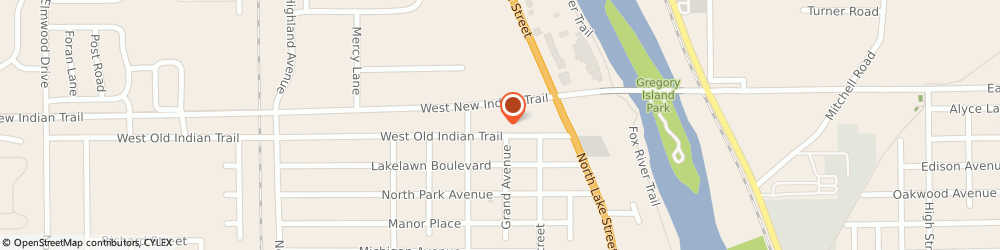 Route/map/directions to Fred Loya Insurance, 60505 Aurora, 355 E Indian Trail, Ste 355