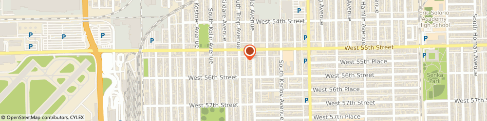 Route/map/directions to Z-Metals, 60607 Chicago, 5525 SOUTH TRIPP AVENUE