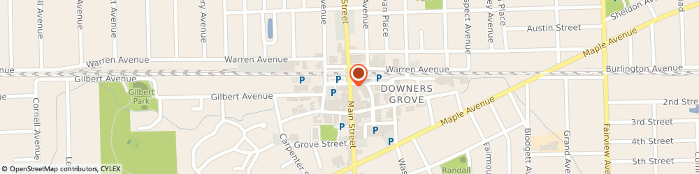 Route/map/directions to US BANK, 60515 Downers Grove, 5100 MAIN STREET