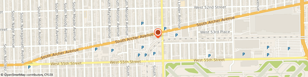 Route/map/directions to PIZZA HUT, 60638 Chicago, 5905 S ARCHER AVE.