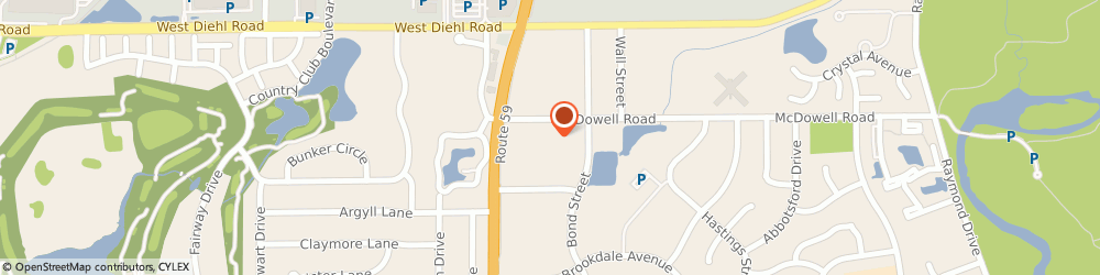 Route/map/directions to Weichert Realtors, 60563 Naperville, 1952 Mcdowell Road