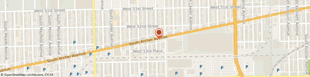 Route/map/directions to Post Office - Clearing, 60638 Chicago, 5645 SOUTH ARCHER AVENUE