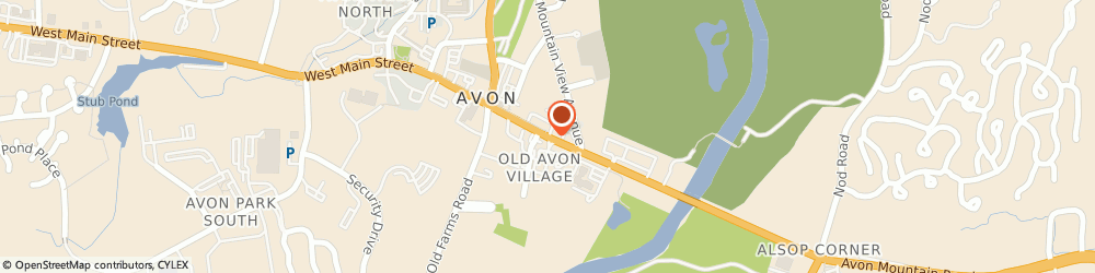 Route/map/directions to Old Village Antiques Llc, 06001 Avon, 21 E Main St