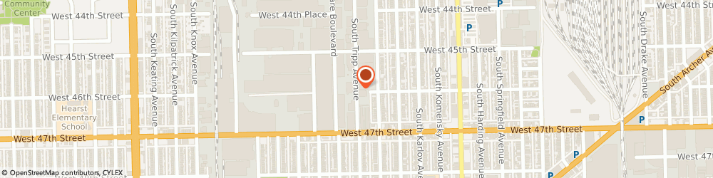 Route/map/directions to Teds Truck Body & Trailer Service, 60632 Chicago, 4601 SOUTH TRIPP AVENUE