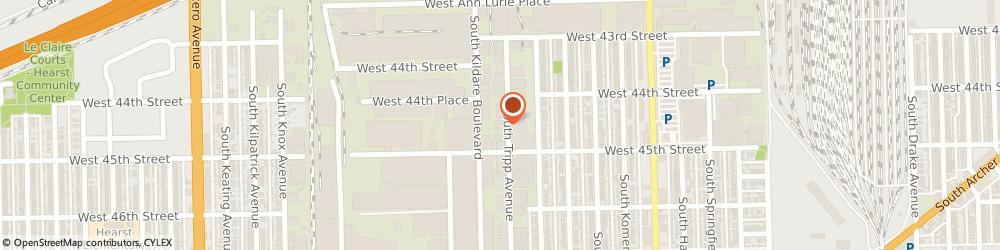 Route/map/directions to Agri-Best Foods Incorporated, 60632 Chicago, 4430 SOUTH TRIPP AVENUE