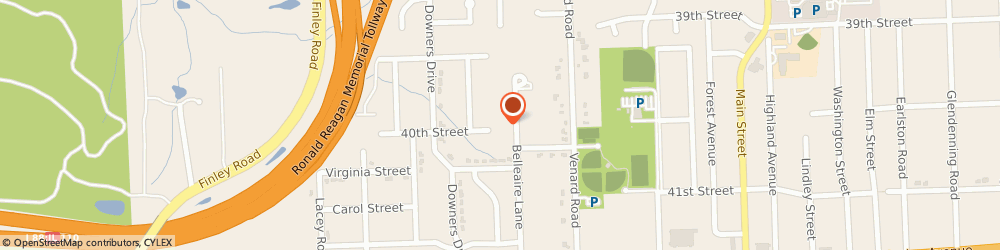 Route/map/directions to Washington Mutual Wholesale Lending, 60515 Downers Grove, 3050 HIGHLAND PKWY 3RD FL