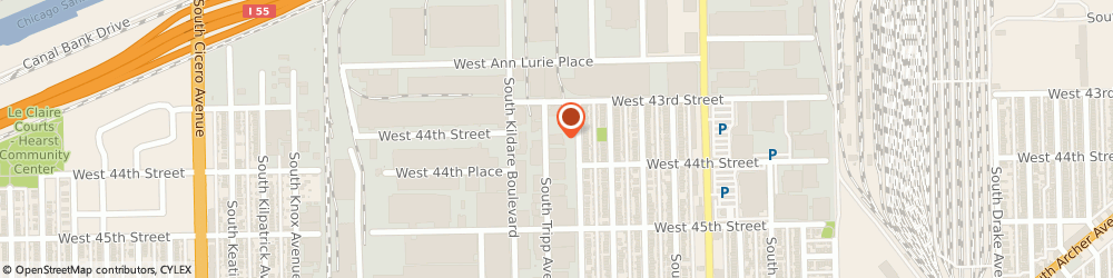 Route/map/directions to Campos Distributors, 60632 Chicago, 4315 SOUTH TRIPP AVENUE