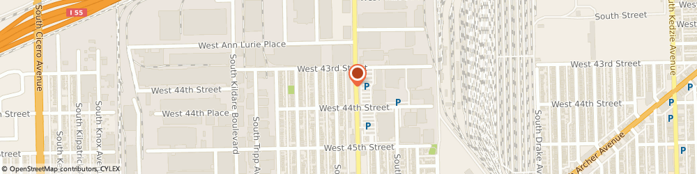 Route/map/directions to Pizza Hut, 60632 Chicago, 4350 S Pulaski Rd