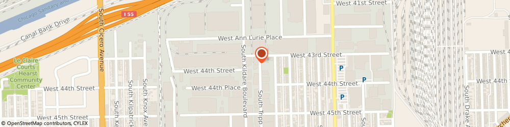 Route/map/directions to Tower Metalworking Fluids, 60632 Chicago, 4300 South Tripp Avenue