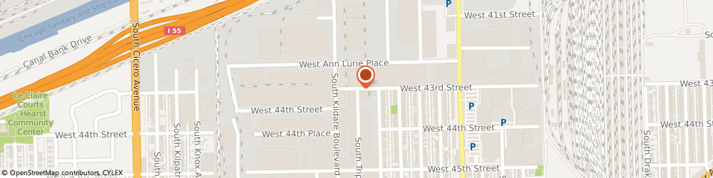 Route/map/directions to Industrial Technology, 60632 Chicago, 4300 SOUTH TRIPP AVENUE