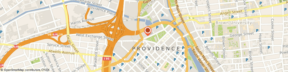 Route/map/directions to Rhode Island Independent Hghr, 02903 Providence, 30 Exchange Ter