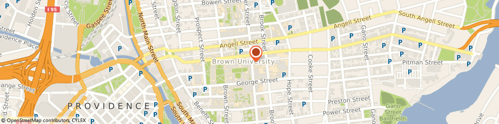 Route/map/directions to Metcalf Research Building - CLPS, 02912 Providence, 190 Thayer St
