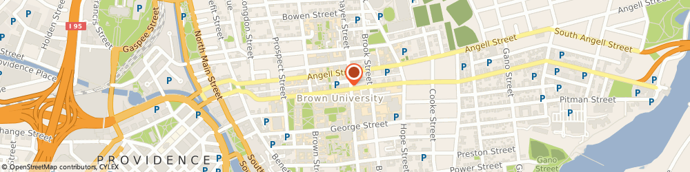 Route/map/directions to Brown University Of Entrepreneurship Program, 02906 Providence, 102 WATERMAN STREET