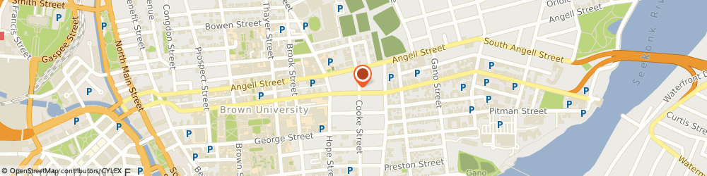 Route/map/directions to Angel Care Montessori, 02906 Providence, 150 Waterman St