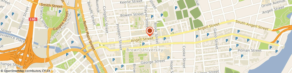 Route/map/directions to Brown University - Annenberg Institute For School Reform, 02912 Providence, 164 Angell Street