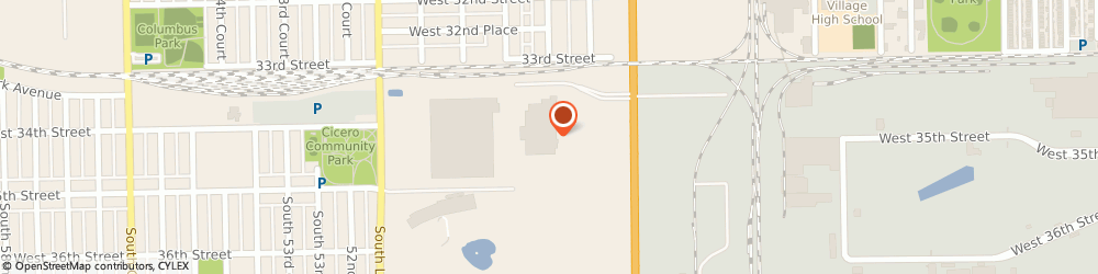 Route/map/directions to Subway, 60804 Cicero, 3320 South Cicero Avenue