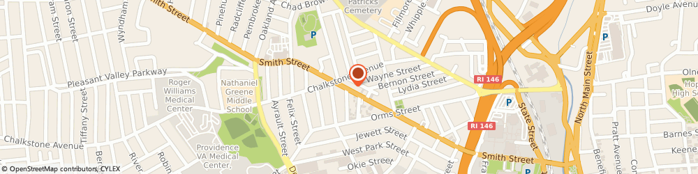 Route/map/directions to Louis W. Grande - Personal Injury Lawyer, 02908 Providence, 395 Smith Street