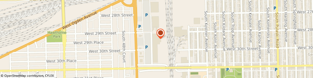 Route/map/directions to Pizza Hut Express, 60804 Cicero, 2901 South Cicero Avenue