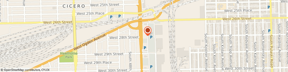 Route/map/directions to Little Caesars Pizza, 60804 Cicero, 2625 South Cicero Avenue