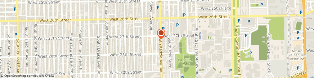 Route/map/directions to Burger King, 60623 Chicago, 2700 South Kedzie Ave