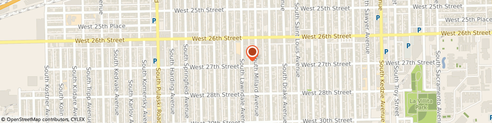 Route/map/directions to APS Books & More, 60623 Chicago, 2653 S Lawndale Ave