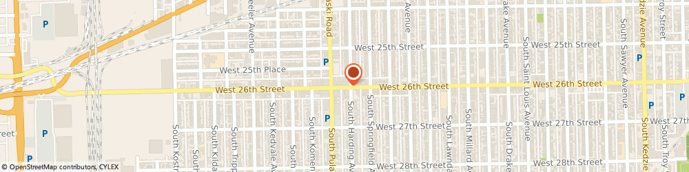 Route/map/directions to Betty's Beauty Salon Inc, 60623 Chicago, 3942 W 26TH ST