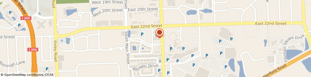 Route/map/directions to First American Title Insurance Co, 60148 Lombard, 246 East Janata Blvd., Suite 210