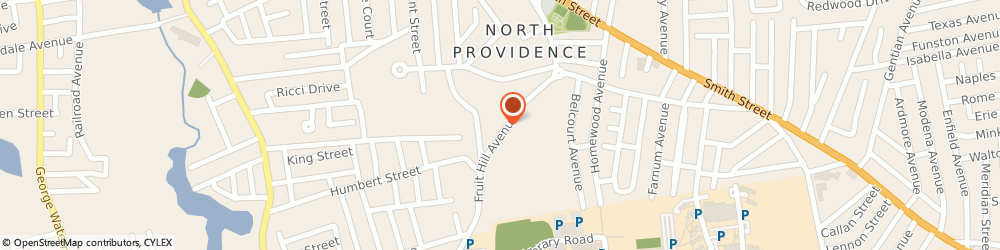 Route/map/directions to Post 10011 Lymansville Memorial Post, 02911 North Providence, 354 Fruit Hill Ave