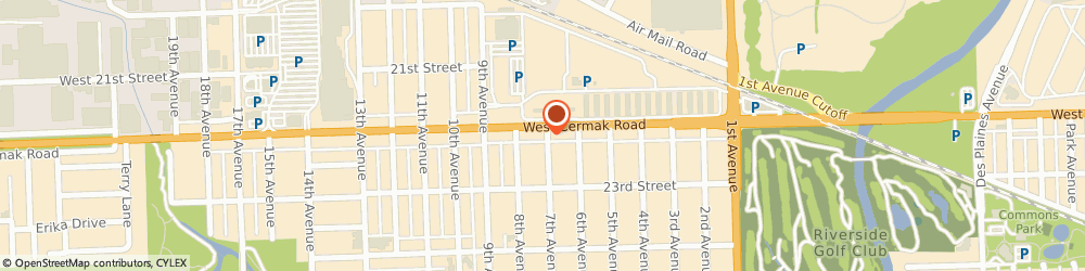 Route/map/directions to Safeco Insurance Agent, 60546-1172 North Riverside, 8701 W Cermak Rd