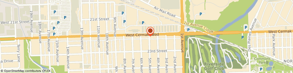Route/map/directions to STATE FARM Bill Hepburn, 60546 North Riverside, 8607 W Cermak Rd