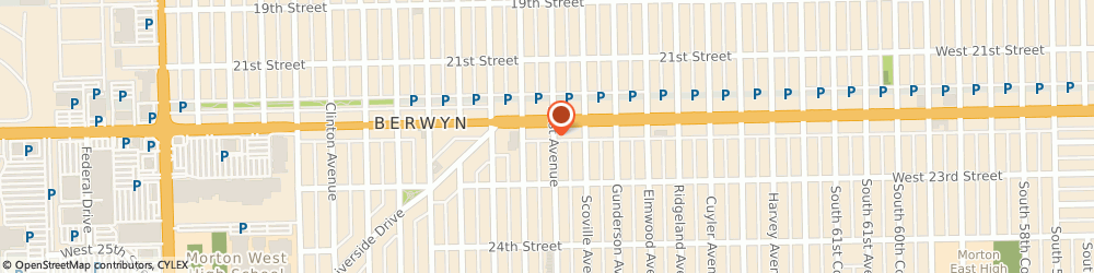 Route/map/directions to Baskin-Robbins, 60402 Berwyn, 6601 Cermak Rd