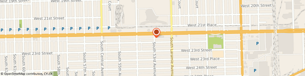Route/map/directions to Subway, 60804 Cicero, 5301 West Cermak Road