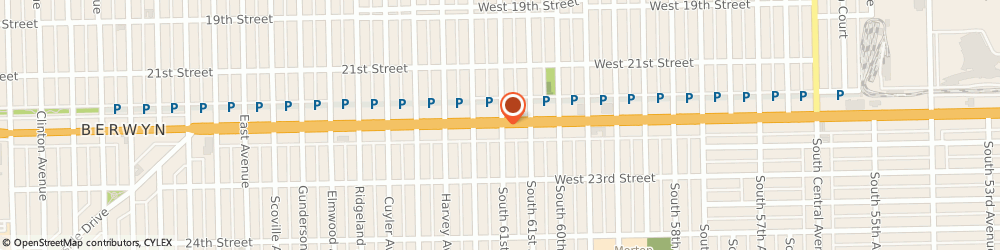 Route/map/directions to Papa John's Pizza, 60804 Cicero, 5103 Cermak Rd