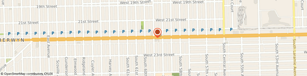 Route/map/directions to POPEYES, 60804 Cicero, 4773 W Cermak Rd