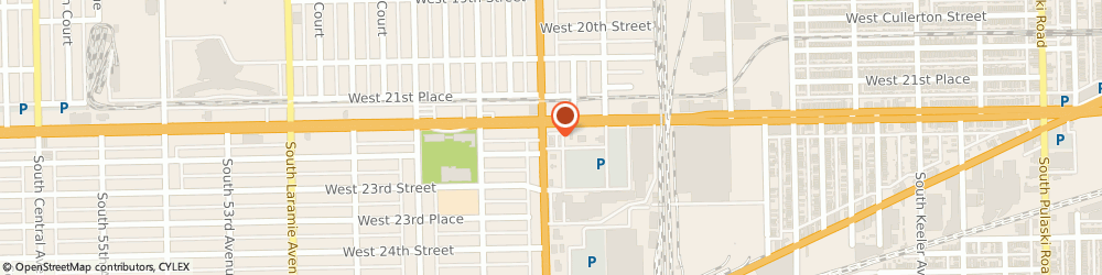 Route/map/directions to Chipotle Mexican Grill, 60804 Cicero, 2201 S Cicero Ave