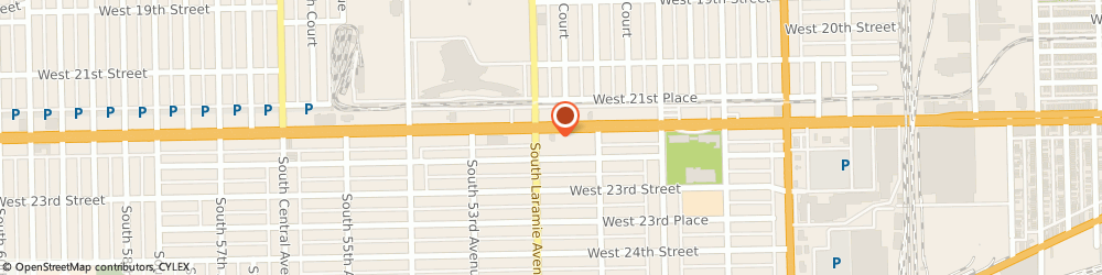Route/map/directions to Wendy's, 60804 Cicero, 5147 W Cermak