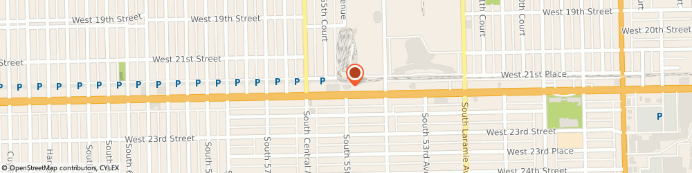 Route/map/directions to McDonald's, 60804 Cicero, 5500 W Cermak Rd