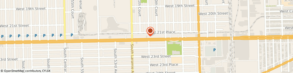 Route/map/directions to Burger King, 60804 Cicero, 5100 W Cermak Rd