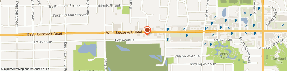 Route/map/directions to McDonald's, 60137 Glen Ellyn, 445 W Roosevelt Rd