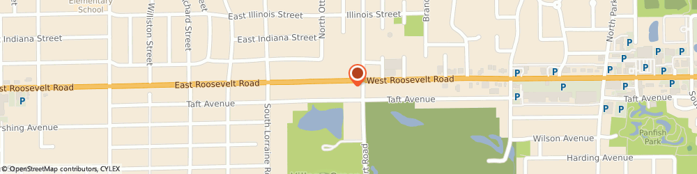Route/map/directions to Wendy's, 60137 Glen Ellyn, 305 Roosevelt Road