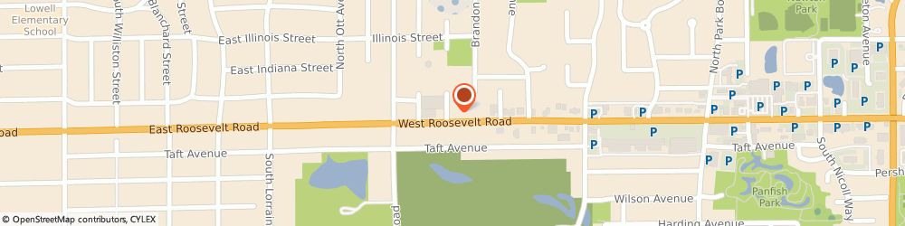 Route/map/directions to KFC, 60137 Glen Ellyn, 370 Roosevelt Road