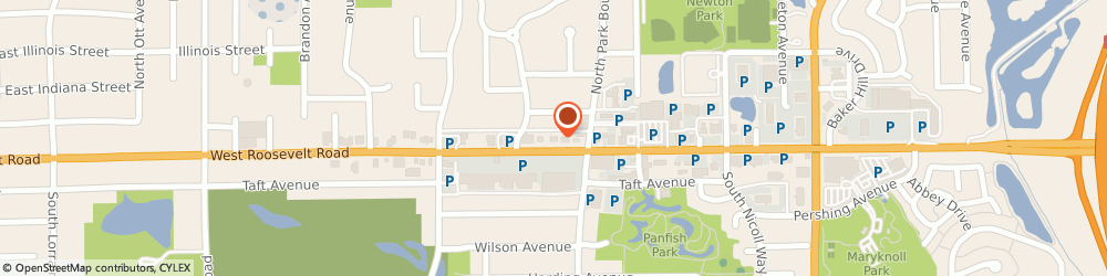 Route/map/directions to Bank of America, 60137 Glen Ellyn, 600 W. ROOSEVELT ROAD