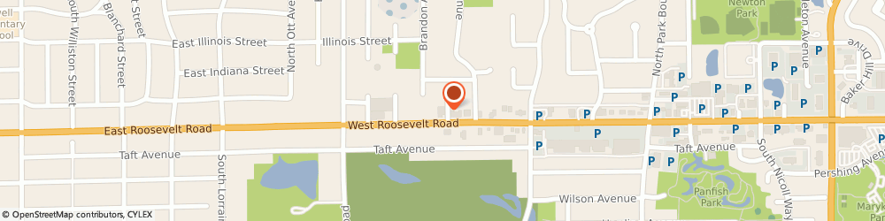 Route/map/directions to AAMCO Transmissions and Total Car Care, 60137 Glen Ellyn, 420-C Roosevelt Rd