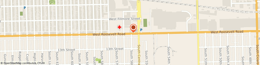 Route/map/directions to Subway, 60644 Chicago, 5630 W Roosevelt Rd