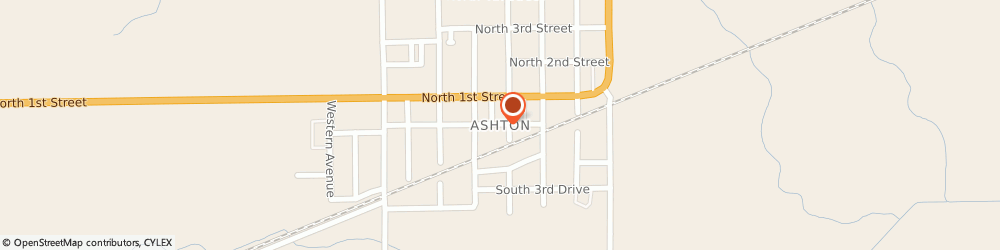 Route/map/directions to BMO Harris Bank, 61006 Ashton, 1010 SOUTH HIGHWAY 251