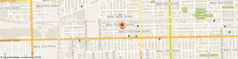 Route/map/directions to First Grace Missionary Baptist Church, 60624 Chicago, 4134 W. Grenshaw St.