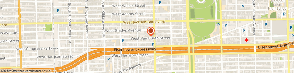 Route/map/directions to New Holy Zion mb Ch, 60624 Chicago, 4026 W Van Buren St