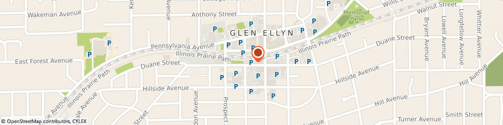 Route/map/directions to Citibank, 60137 Glen Ellyn, 444 N MAIN ST