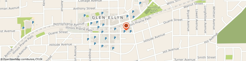 Route/map/directions to Navy Federal Credit Union, 60137 Glen Ellyn, 453 Forest Avenue