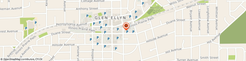 Route/map/directions to US BANK, 60137 Glen Ellyn, 453 FOREST AVENUE